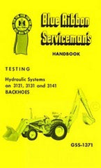 International TD-7 C T-8C TD-8 C 100C 125C Backhoe Hydraulic Test Service Manual