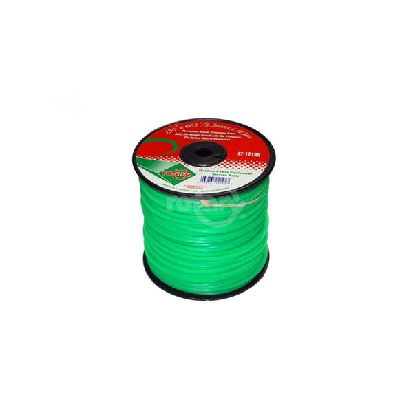 Line Trimmer .130405' Med Spool Quad Green