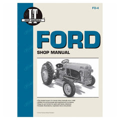 Shop Manual Ford New Holland 2N 8N 9N