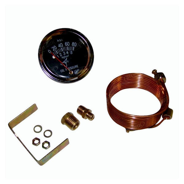 80Lb Oil Pressure Gauge Universal Products