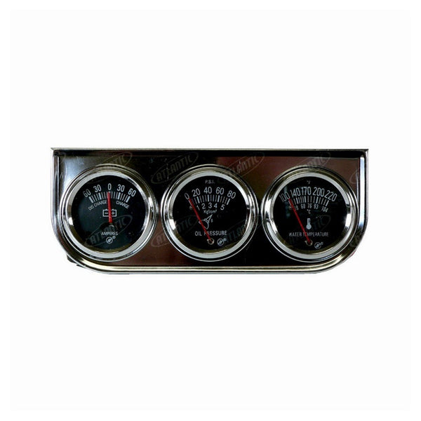 3 Gauge Set Chrome Universal Products