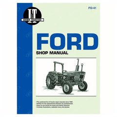 Service Manual Ford New Holland 2310 2600 2610 3600 4100 4110 4600 4600Su 4610 4