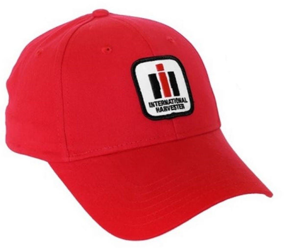 Youth Solid Red International Harvester Logo Hat