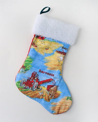 Blue Tractor Mac International Harvester Stocking Holiday Christmas Gift