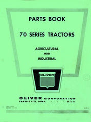 Oliver 70 Standard, Row Crop & Industrial Part Manual