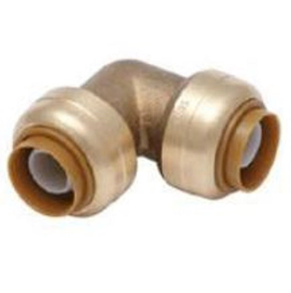1 Inch Brass Push On Elbow HVAC