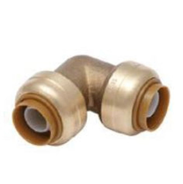 3/4 Inch Brass Push On Elbow HVAC