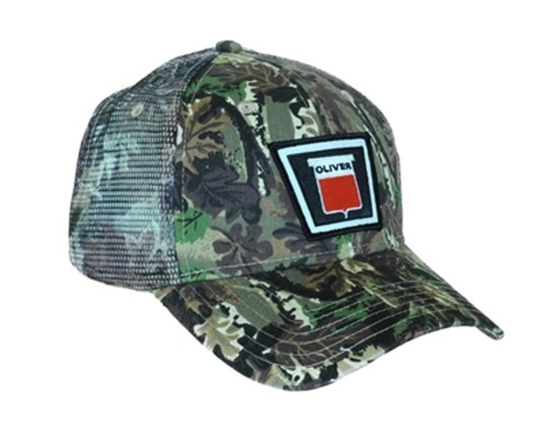 Oliver Tractor Cap Keystone Logo Camo Hat Mesh Back Accents Gift