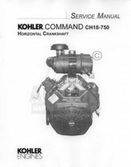 Kohler Command 25CH 26CH 17 18 20 22 23 Service Manual