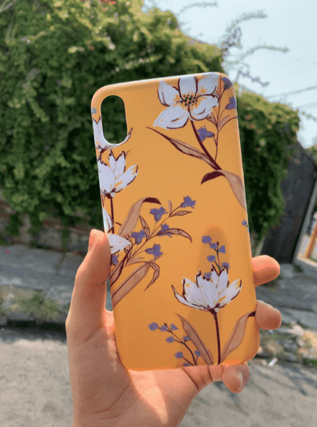 Cute Floral Yellow Case
