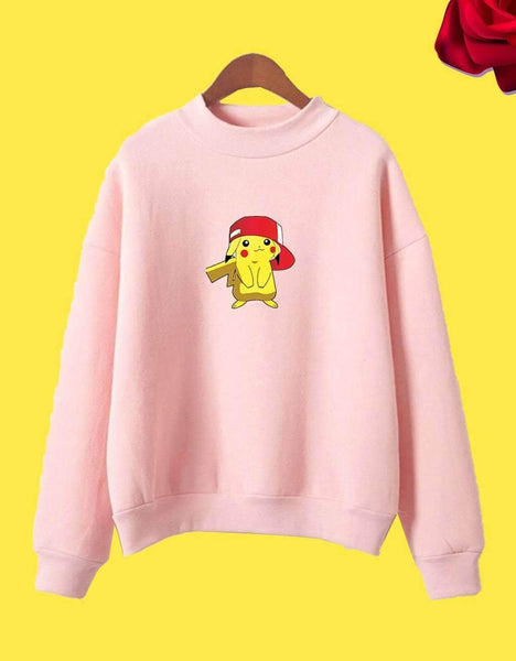 Kawaii Pikachu Sweatshirt
