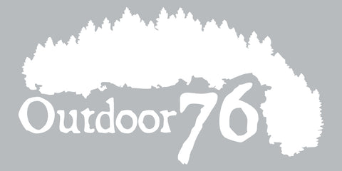 Outdoor 76 logo sticker - FREE STICKER