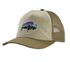 W's Fitz Roy Bison Layback Trucker Hat