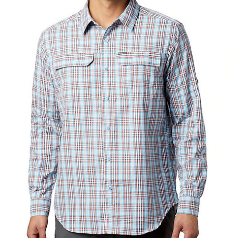 M's Silver Ridge 2.0 Plaid L/S