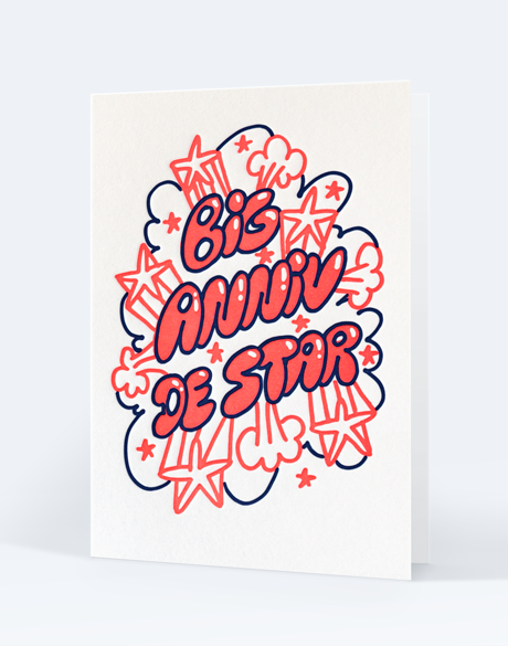 Impression letterpress - Paul Loubet X Letterpress de Paris