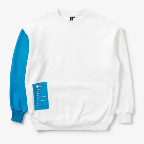 "LIVINGBONE x ORBITGEAR ""NOT SS/AW"" COLORBLOCK SWEATSHIRT"