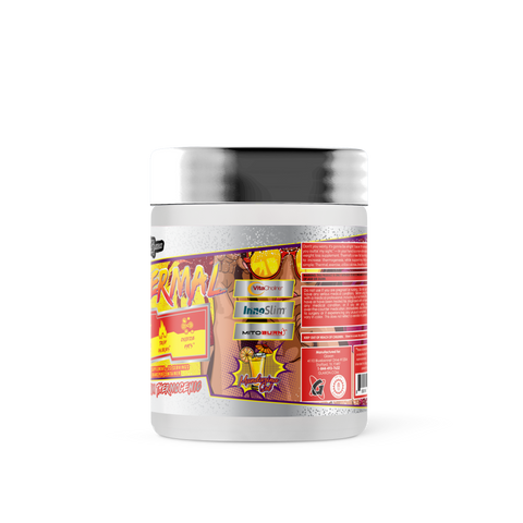Thermal powder thermogenic weightloss supplement