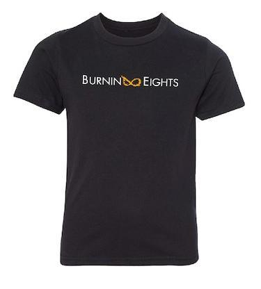 youth t-shirt burnin eights