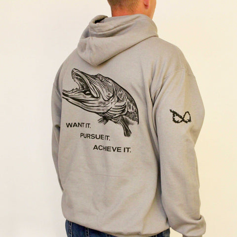burnin eights musky hoodie back
