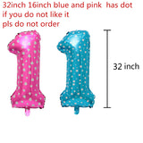 32 inch Balloon Foil Numbers 0-9