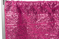 Fuchsia Sequin Curtain Sequin Panel Sequin Photo Backdrop Custom Sizes Available