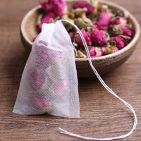Tea Bags for Loose Tea 100pcs/Lot Teabags 5.5 x 7CM Empty Tea Bags With String Filter Paper for Herb Loose Tea