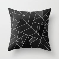 18x18 Decorative Cushion Cover Pillow Pillowcase Geometric Design