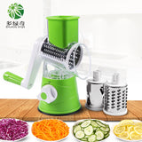 Manual Vegetable Cutter Slicer Multi-functional Round Mandoline Slicer Potato Cheese Kitchen Gadgets Kitchen Accessories