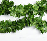 Vine Rattan Leaf Artificial Decoration Vivid Leaves For Home Garden Party Decor 10 Different Styles