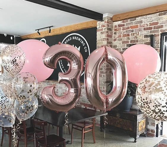 40 inch Number Balloons Foil Numbers