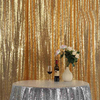 Gold Sequin Curtain Sequin Panel Sequin Photo Backdrop Custom Sizes Available