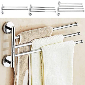 Towel Shelf Wall-Mounted Bathroom Holder