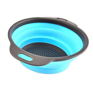 Portable Drain Basket - Kitchen Sink Washing Basket