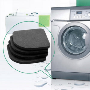 4 PCS Refrigerator/ Washing Machine Pads