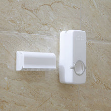 Load image into Gallery viewer, Bathroom Accessories Set - Toothbrush Holder, Toothpaste Dispenser