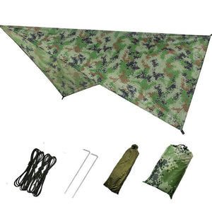 Portable Camping Hammock with Mosquito Net and Rain Tarp