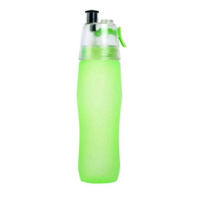 Sports Spray Water Bottles - Plastic Nozzle