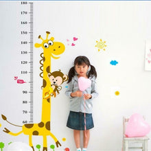 Load image into Gallery viewer, Removable Height Chart Wall Sticker - Decor Wall Art