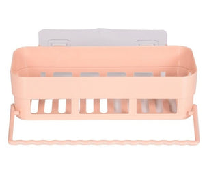 Kitchen Bathroom Shelf with Towel Rack