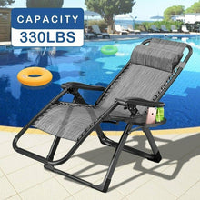 Load image into Gallery viewer, Folding Lounge Beach Camping Chairs