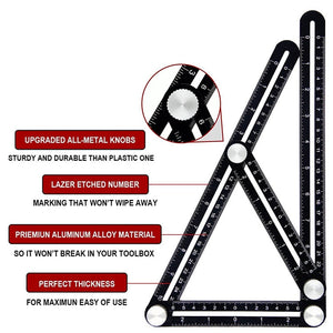 Construction Multi Angle Measuring Ruler