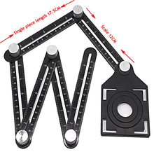 Load image into Gallery viewer, Construction Multi Angle Measuring Ruler
