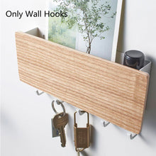 Load image into Gallery viewer, Wall Hook Storage Rack - Wooden Hanger