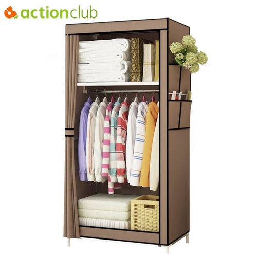 Non-woven Cloth Wardrobe - Storage Cabinet