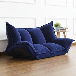 Floor Furniture - Reclining Japanese Futon Sofa Bed