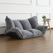 Load image into Gallery viewer, Floor Furniture - Reclining Japanese Futon Sofa Bed