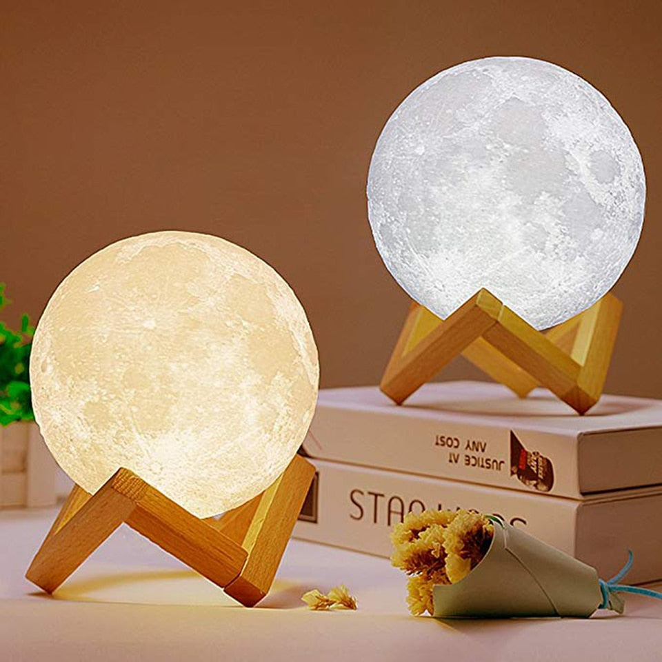 Moon Light Table Lamps - LED Night Light