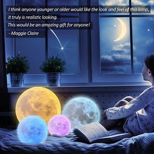 Load image into Gallery viewer, Moon Light Table Lamps - LED Night Light