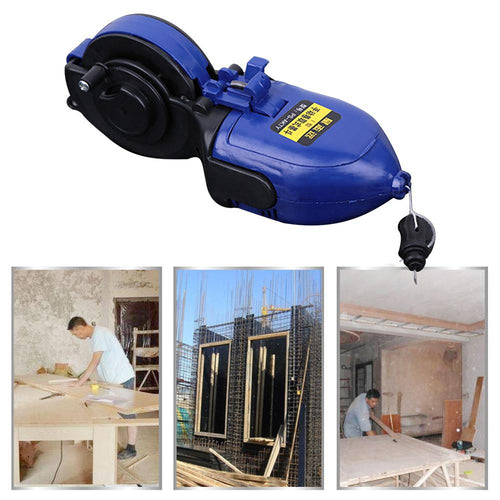 Woodworking Ink Marker Fountain Duct Chalk Line 30M