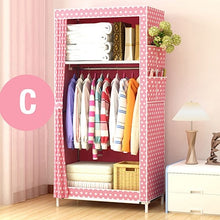 Load image into Gallery viewer, Non-woven Cloth Wardrobe - Storage Cabinet